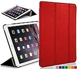 Forefront Cases® Apple iPad Mini Smart Case Cover Custodia Caso Pieghevole - Ultra Sottile Leggero con Protezione Dispositivo Completa e funzione Auto Sveglia/Sonno (ROSSO)