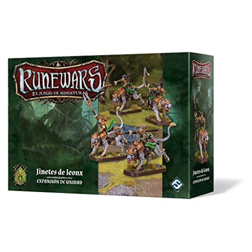 Fantasy Flight Games- Runewars - Jinetes de leonx - Español, Multicolor (FFRWM17)...