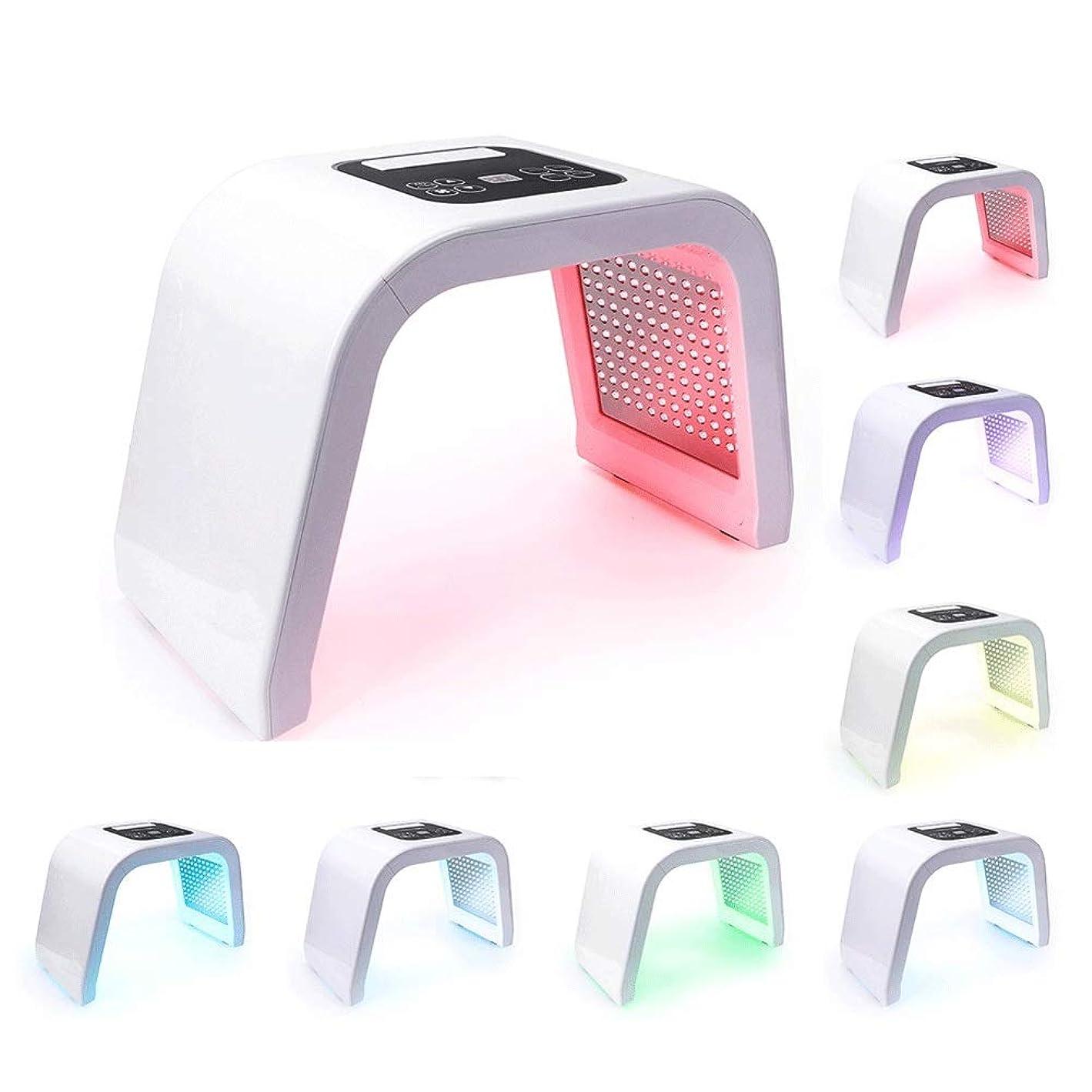 信頼性変更可能遠足7色LED PDTライトスキンケアの美機械LEDの顔のマスクPDT療法のための皮の若返りのアクネの除去剤の反しわ