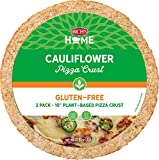 Rich's Home 10' Cauliflower Pizza Crust, Gluten Free, Vegan, 6 Crusts