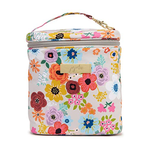JuJuBe Lunch Bag, Fuel Cell | Portable, Travel Friendly, Insulated Lunch Box Reusable Stylish Lunch Tote, Baby Bag or Baby Bottle Cooler | Enchanted Garden
