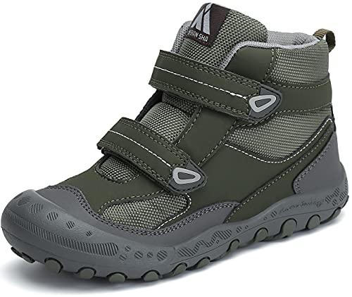 Mishansha Zapatos Niña Zapatillas de Montaña Ligeras Zapatos Niños Antideslizante Botas de Trekking Zapatillas de Senderismo