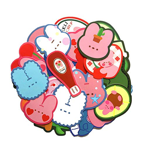HNJYXX Cute Stickers for Water Bottles Colorful Graffiti Pack Tablet Luggage Notebook Etc Trendy Decals for Teen 25pcs