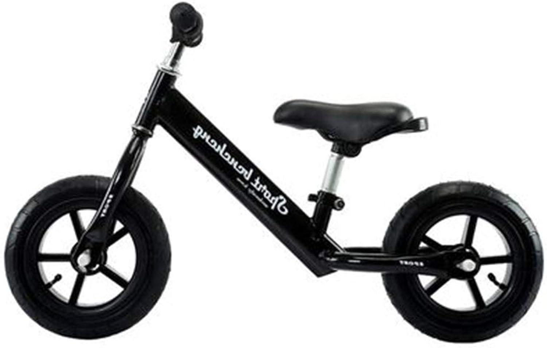 marca de lujo SSRS Scooter for Niños Que aprende a Andar un un un Cochero sin Equilibrio 2-3-5 años 10 Pulgadas (Color   negro )  descuento de bajo precio