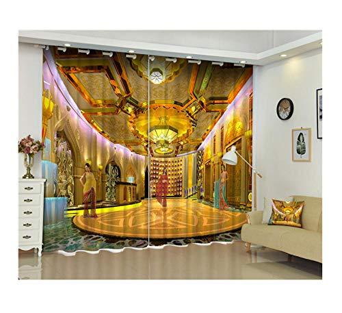 cortinas salon indias