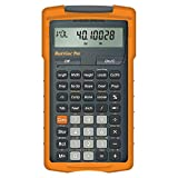 Calculated Industries 4325 HeavyCalc Pro Feet-Inch, Tenths, Yards and Metric Construction Math Calculator Tool for Engineers, Estimators, Excavators, Highway Contractors and Heavy Equipment Operators