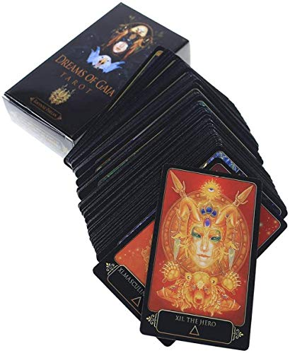 FFJD Tarot Oracle Dreams of Gaia Tarot-Karten-Brettspiele Palying Cards for Party Game