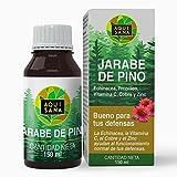 Jarabe de Pino - Aquisana | Jarabe con Equinacea + Propóleo +Vitaminas | Ayuda a reducir la Tos-libre de alérgenos - (150 ML)