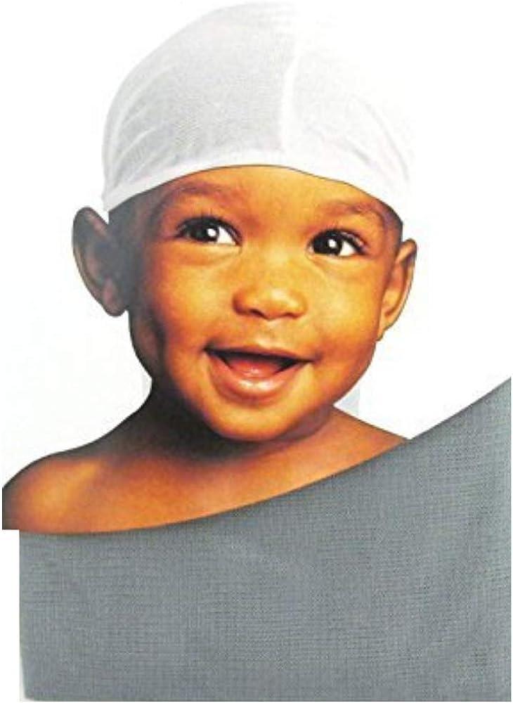 Titan Satin Baby du rag Grey Breathable