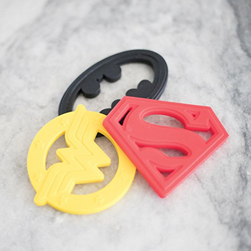 Product Image 9: Bumkins Silicone Teether, DC Comics Textured, Soft, Flexible, Bacteria Resistant – Superman