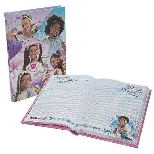 Giochi Preziosi Miracle Tunes 19 Diario Scuola 10 Mesi, Formato Standard, 320 Pagine, Grafiche Assortite