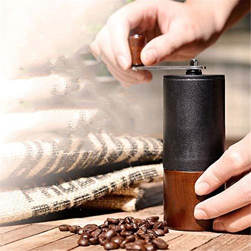 Handgemolde bonenmolen slijtvaste koffiemolen eenvoudige reiniging bonen molen handslinger keuken handmatig draagbaar home gereedschap geschenken voor het gezin Logs