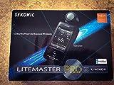 Sekonic L-478DR LiteMaster Pro - Fotómetro con radio