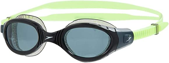 Speedo Unisex Adult Futura Biofuse Flexiseal Swimming Goggles - Green/Black, One Size