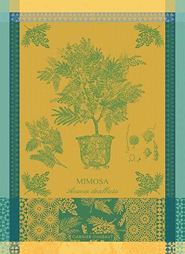 Garnier Thiebaut Geschirrtuecher Mimosa Jaune 56 X77 cm 100% Baumwolle