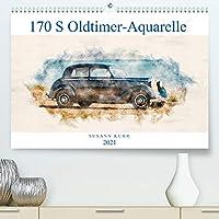 170 S Oldtimer-Aquarelle (Premium, hochwertiger DIN A2 Wandkalender 2021, Kunstdruck in Hochglanz): Digitale Aquarelle eines Klassikers (Monatskalender, 14 Seiten )