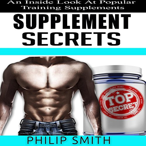Supplement Secrets audiobook cover art