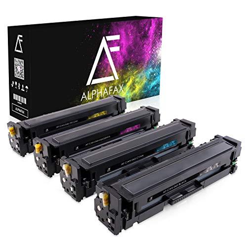 Alphafax 4 Toner kompatibel mit Canon I-Sensys MF-631 632 634 635 636 LBP-611 612 613-045