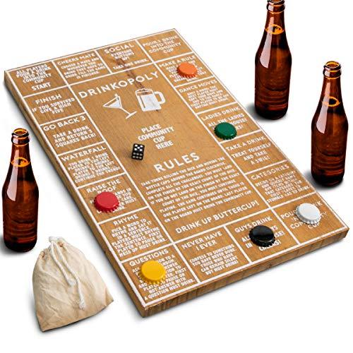 Juego de beber de Refinery para adultos, divertidos juegos de beber para bares y fiestas, diseño...