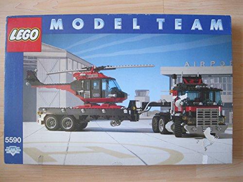 Lego Modellteam 5590 Truck mit Helikopter