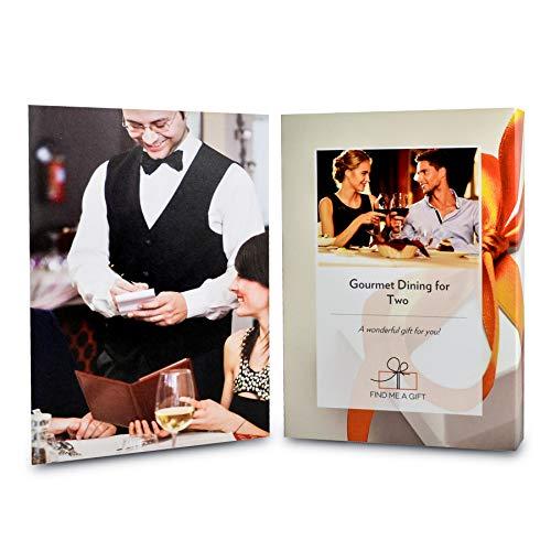 Activity Superstore Gourmet Dining for Two - Verwöhnen Sie das Essen in Ihrem Leben mit Einer Flasche Champagner, Prosecco oder einem Glas Wein