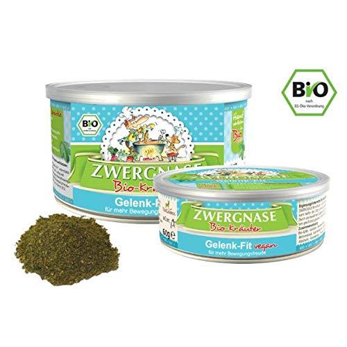 zwergnase Bio-Kräuter Gelenk-Fit Pulver, Vegan, 1er Pack (1 x 150 g)