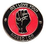 Mainly Metal ™ Pin de esmalte – Do I Love You? Indeed I Do (broche de 25 mm) Northern Soul Skinhead MOD Scooter de dos tonos ska