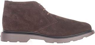 Luxury Fashion | Hogan Men HXM3930W872HG0S807 Brown Suede Ankle Boots | Autumn-winter 20