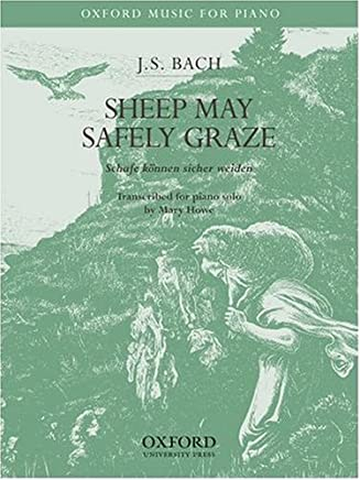 Sheep may safely graze: Piano Solo Version