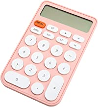 $28 » Cute Deskto Calculator with 12 Digits Large Display Student Girl's Electronic Calculator for Accounting Office School Home...