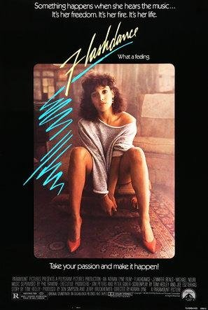 Import Posters Flashdance – U.S Movie Wall Poster Print - 30CM X 43CM