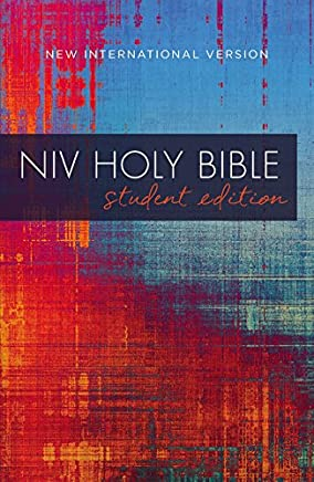 NIV Holy Bible: New International Version, Red/Blue Graphic