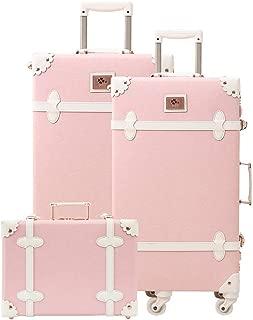 pink vintage suitcase
