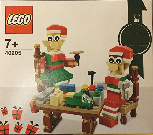 LEGO 40205 Christmas Seasonal Holiday Elves' Workshop
