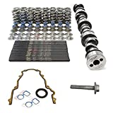 Texas Speed TSP Cleetus McFarland Bald Eagle LS1 LS2 LS6 Camshaft for Boosted Turbo Supercharged Applications Includes Spring Kit with Pushrods and Gasket Kit (Camshaft, Spring Kit and Gasket Set)