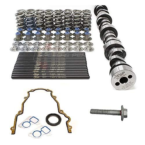 """Texas Speed TSP 228R 228/228 .600""""/.600"""" Camshaft, Spring Kit, Chromoly Pushrods, and Gasket Set. 4.8 5.3 5.7 6.0 LS Cam (Camshaft, Spring Kit, and Gasket Set)"""