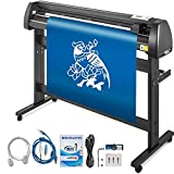Mophorn Vinyl Cutter Machine 53 Inch Vinyl Cutter 1350mm Plotter Cutter LCD Display Vinyl Plotter Cutter Machine Signmaster Software Sign Making Machine with Stand
