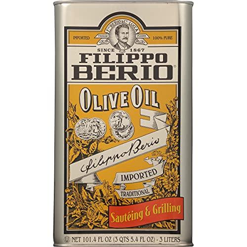 Filippo Berio Olive Oil, 101.4 Ounce Tin