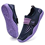 Boys & Girls Water Shoes Lightweight Comfort Sole Easy Walking Athletic Slip on Aqua Sock(Little Kid/Big Kid) U120DF2001-Navy.ple-31