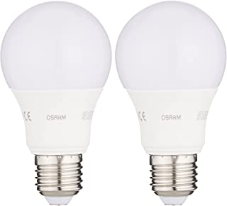 OSRAM LED Value Classics A (9w) Frosted LED lamp, Warm White - Pack of 2