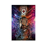 WERTQ Póster decorativo de Juego de Tronos en alta definición para sala de estar o dormitorio, 30 x 45 cm