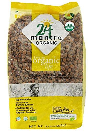24 Mantra Organic Brown Chana - 4 Lb,, ()