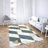 Oedim Alfombra Imitación Mármol Verde y Dorado para Habitaciones PVC | 300 x 200 cm | Moqueta PVC | Suelo vinílico | Decoración del Hogar | Suelo Sintasol | Suelo de Protección |