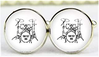 Set de tambores Gemelos, personalizado FECHA y iniciales, personalizado Gemelos