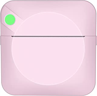 Ronyme Mini impressora fotográfica de bolso Conexão BT sem fio USB de carregamento 1000mAh para lista de imagens Estudo pa...