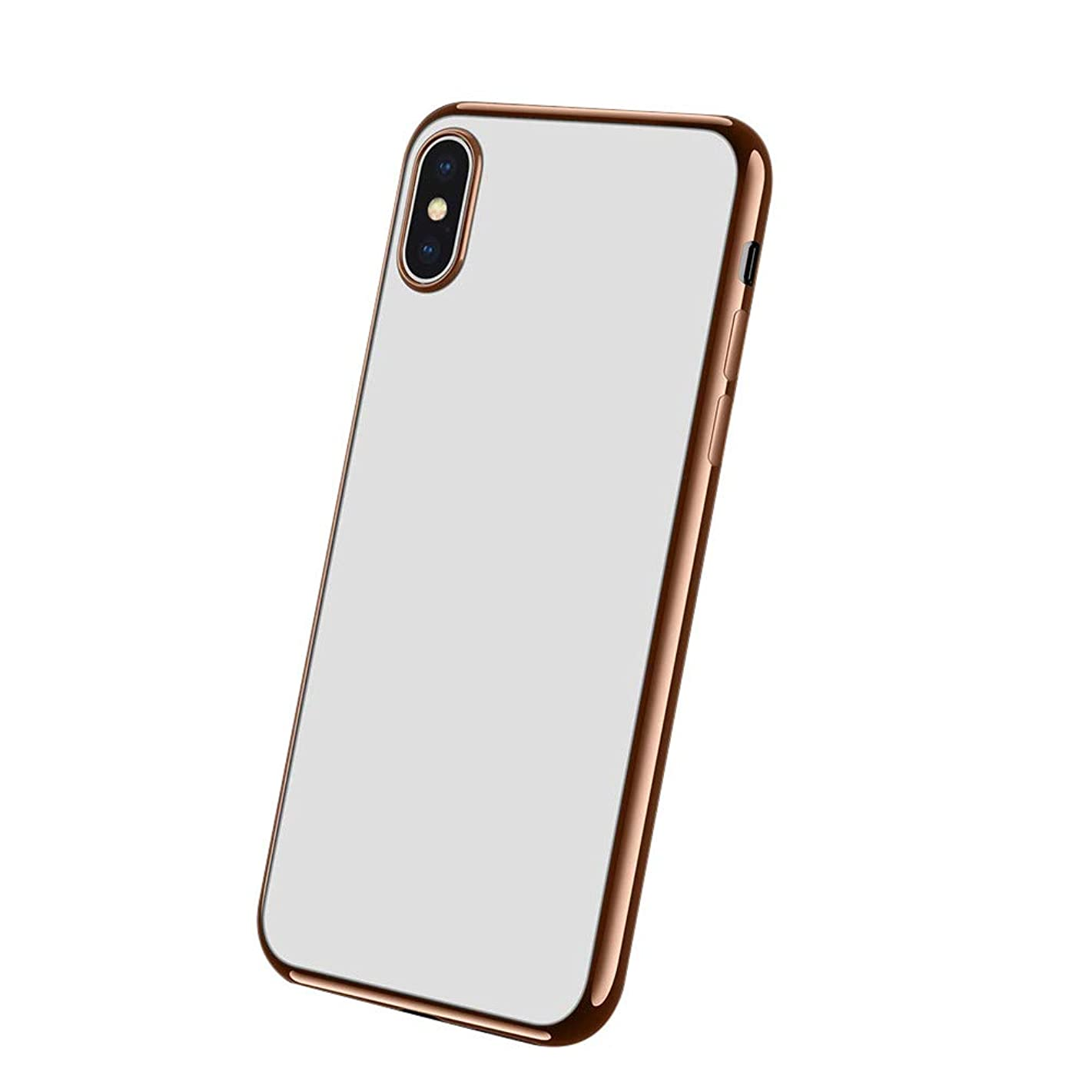 Christmas Hot Sale!!!Kacowpper New Fashion Luxury Ultra Slim Silicone Clear Case Cover Compatible iPhone XS/XS Max/XR