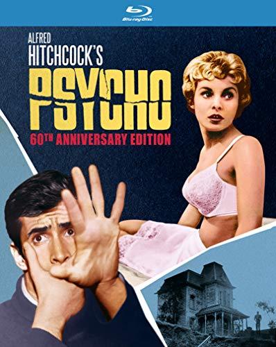 Psycho 60th Anniversary Edition (Blu-ray) [2020] [Region Free]