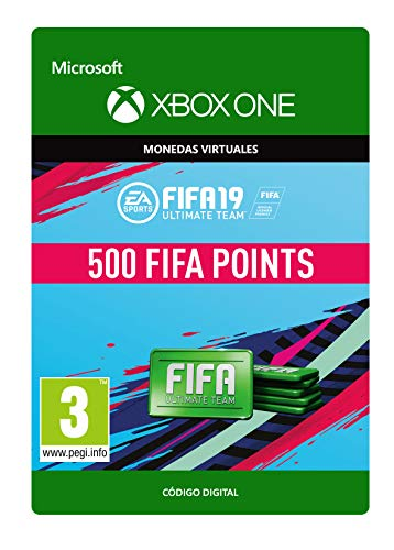 FIFA 19: Ultimate Team Fifa Points 500 | Xbox One - Código de descarga