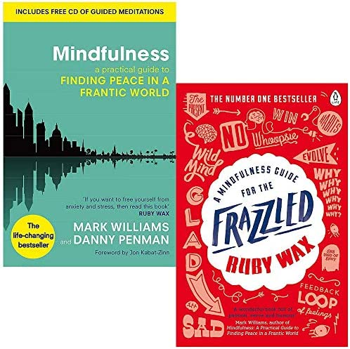 Mindfulness A Practical Guide to Finding Peace in a Frantic World By Mark Williams and Dr Danny product image