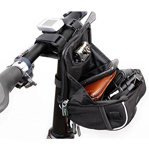 Sac Vélo étanche – Verttee Vélo Sac à dos 16,1 cm pour vos outils de pneu et Personnel Appartenant de vélo Sac à dos
